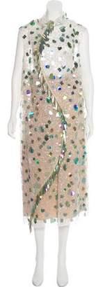 Marni 2017 Embellished Dress w/ Tags