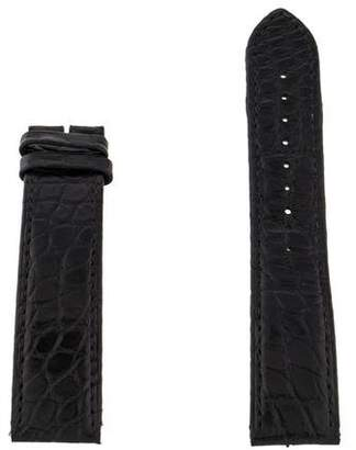 Cartier 20mm Crocodile Strap