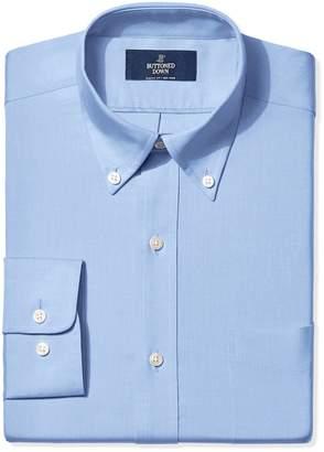 Buttoned Down Men's Classic Fit Button-Collar Non-Iron Dress Shirt (Pocket)