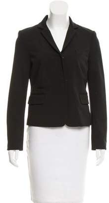 Diane von Furstenberg Long Sleeve V-Neck Blazer