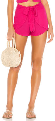 Indah X REVOLVE Palm Wrap Short