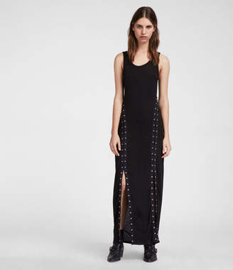 AllSaints Miller Long Dress