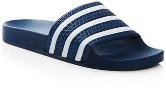 Adidas Men's Adilette Slide Sandals $45 thestylecure.com