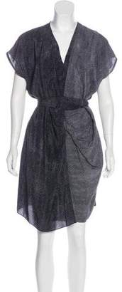 AllSaints Knee-Length Silk Dress