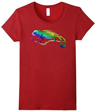 Chameleon shirt colorful Chameleon lizard tee