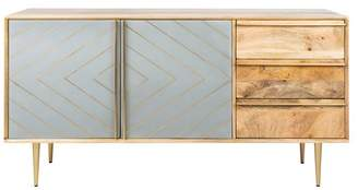 Safavieh Titan Inlayed Cement Sideboard