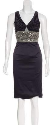 Mandalay Embellished Knee-Length Dress