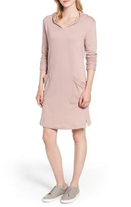 Caslon Off Duty Hoodie Dress
