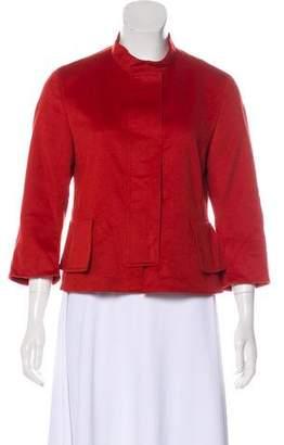 Akris Punto Short Wool Jacket