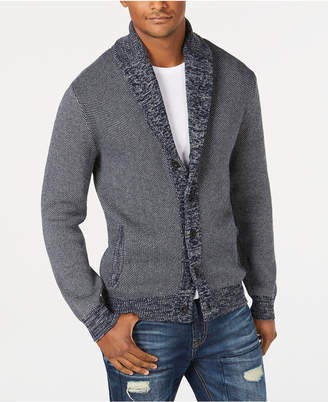 American Rag Men's Textured Cardigan, Created for Macys