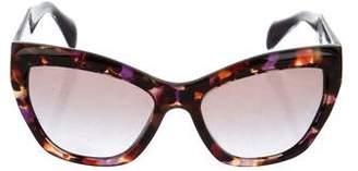 Prada Gradient Cat-Eye Sunglasses