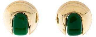 Lanvin Resin Clip-On Earrings