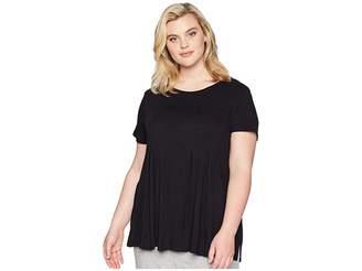 Donna Karan Plus Size Modal Spandex Jersey Top Women's Pajama