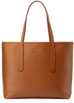 Furla Ariana Medium Saffiano Leather Open Tote Bag