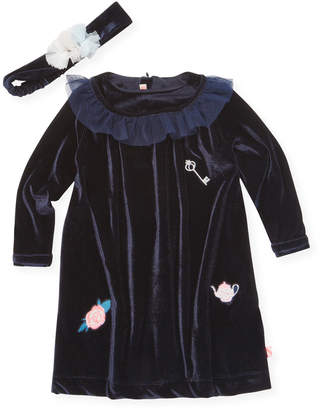 Billieblush Textured Lace Dress