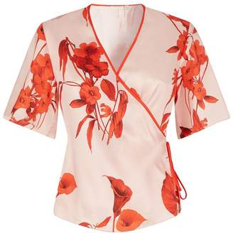Ted Baker Melonyy Fantasia Wrap Top
