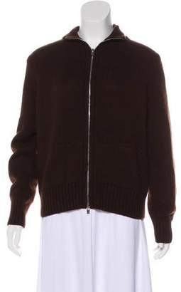 Loro Piana Zip-Up Cashmere Sweater