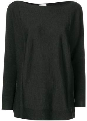 Zanone boat neck jumper