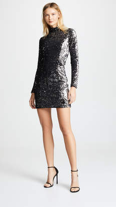 Milly SequinTurtleneck Dress