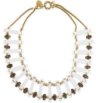 Giles & Brother Lucite Collar Necklace