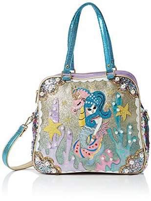 Irregular Choice Womens Barnacle Betty Bag Top-Handle Bag