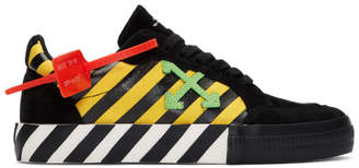 Off-White Off White Black and Yellow Low Vulcanized Sneakers