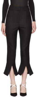 Jacquemus Black Le Corsaire Fendu Trousers