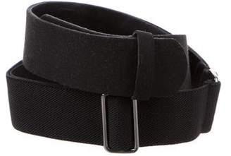 Halston Leather Waist Belt