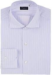 Finamore Men's Striped Cotton Poplin Shirt - Stripe