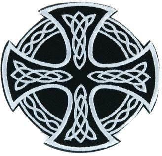 Celtic YDS Accessories Iron Cross Patch Iron on Applique Alternative Clothing Sons of Anarchy