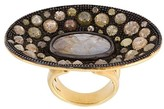 Loree Rodkin 钻石圆盘戒指
