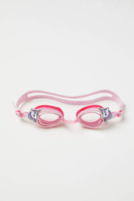 H&M Glittery Swim Goggles - Pink