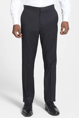 Theory 'Marlo P Hamburg' Flat Front Tuxedo Trousers