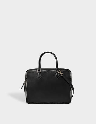 Valentino Studs stiching double handle bag