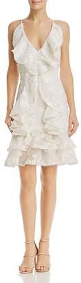 Keepsake Shine Ruffle Dress