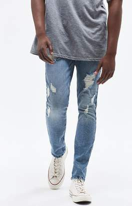PacSun Ripped Medium Skinny Jeans