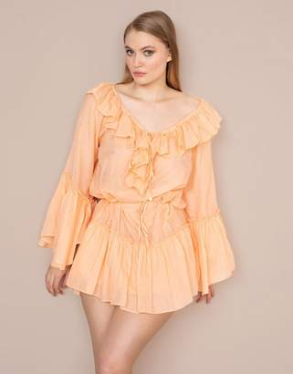 Agent Provocateur Elodi Shirt Peach