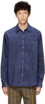 Schnaydermans Blue Corduroy One Shirt