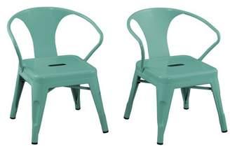 ACEssentials Kids Metal Activity Chair 2pk, Multiple Colors