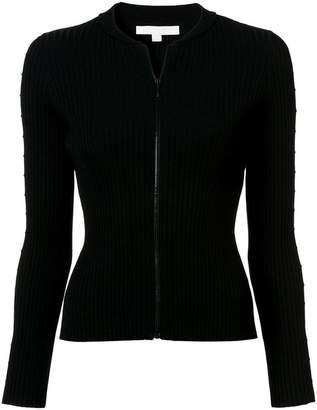 Jonathan Simkhai cut out sleeve zipped sweater