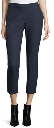 Theory Thaniel Approach Cropped Slim Pants $275 thestylecure.com
