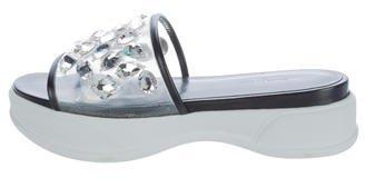 MICHAEL Michael KorsMichael Kors Collection Embellished Slide Sandals