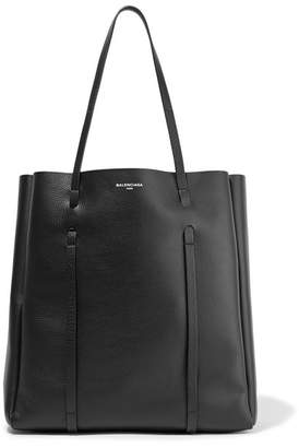 Balenciaga Textured-leather Tote - Black
