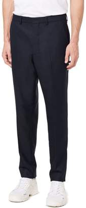 Ami Carrot Fit Textured Trousers