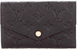 Louis Vuitton Louis Vuitton Empreinte Compact Curieuse Wallet