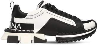 Dolce & Gabbana Super King Leather Sneakers
