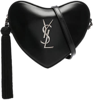Saint Laurent Monogramme Heart Shoulder Bag
