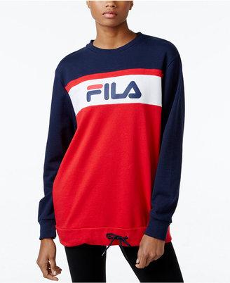FILA Novara Sweatshirt $70 thestylecure.com