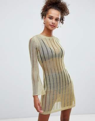 Glamorous metalic jumper dress