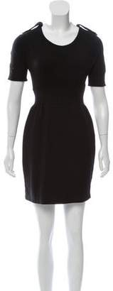 Burberry Nova-Check Accented Mini Dress